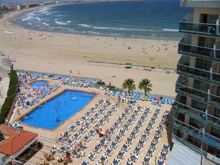 Hotel Golden Donaire Beach Luftaufnahme