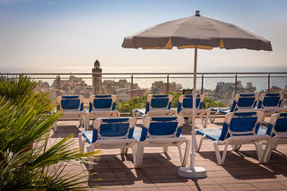 Hotel H TOP Calella Palace Family & Spa Terasse