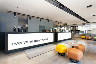 Hotel a&o Köln Neumarkt Lounge/Empfang