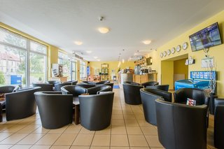 Hotel a&o Weimar Lounge/Empfang