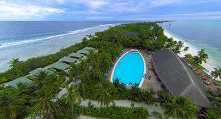 Hotel Canareef Resort Maldives Luftaufnahme