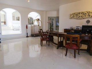 Hotel Tharroe of Mykonos Lounge/Empfang