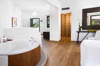 Hotel Tharroe of Mykonos Badezimmer
