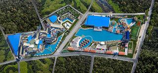 Hotel Granada Luxury Belek Luftaufnahme