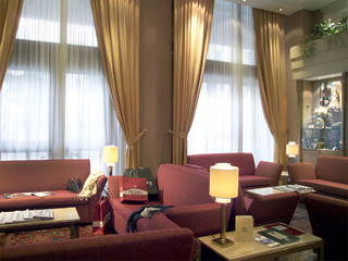 Hotel Best Western President Lounge/Empfang
