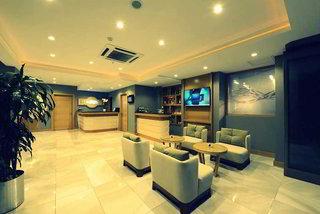 Hotel Olimpiyat Lounge/Empfang