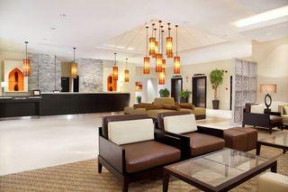Hotel Holiday Inn Express Dubai Safa Park Lounge/Empfang