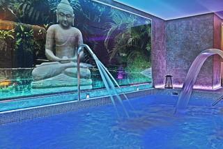 Hotel Torre Azul Spa - Erwachsenenhotel ab 16 Jahren Hallenbad