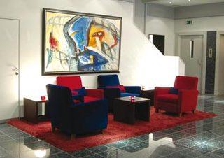 Hotel Am Augustinerplatz Lounge/Empfang