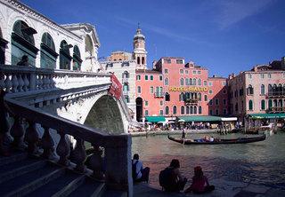 Hotel Rialto Venedig Außenaufnahme