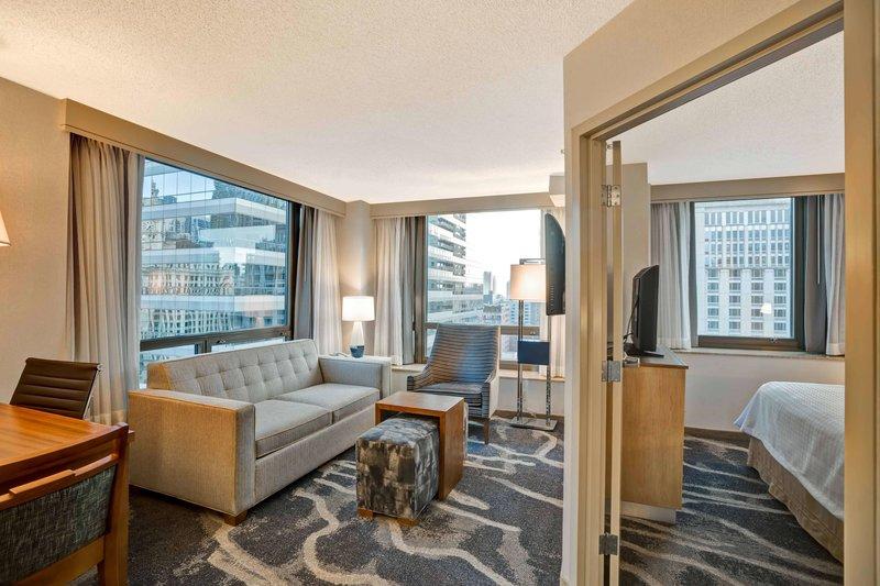 Homewood Suites by Hilton Chicago-Downtown Wohnbeispiel