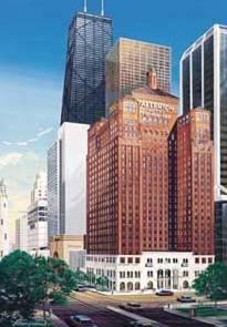 Warwick Allerton Hotel Chicago Außenaufnahme