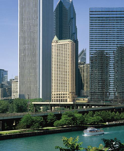 Fairmont Chicago, Millennium Park Außenaufnahme