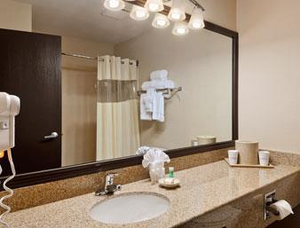 Baymont Inn & Suites Dallas/ Love Field Badezimmer