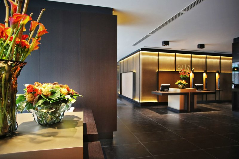 The Hotel Brussels Lounge/Empfang