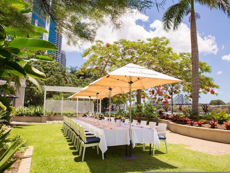 Stamford Plaza Brisbane Garten