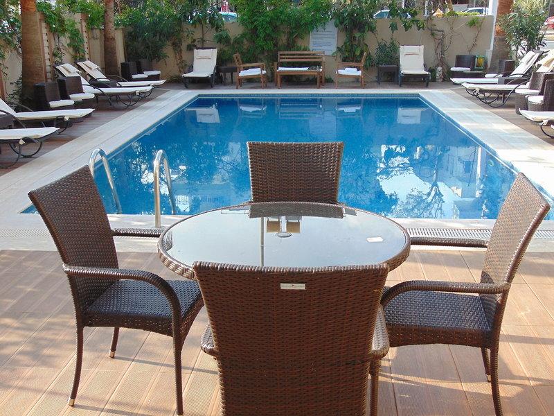 Nergiz Apart Hotel Side Pool