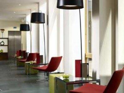 Hilton Garden Inn Gurgaon Baani Square Lounge/Empfang