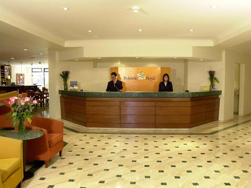 NH Bogota Boheme Royal Lounge/Empfang