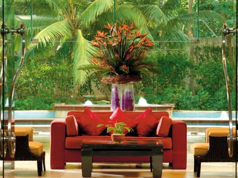 Marriott Executive Apartments, Lakeside Chalet Mumbai Terrasse