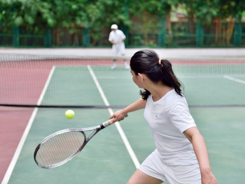 Marriott Executive Apartments, Lakeside Chalet Mumbai Sport und Freizeit