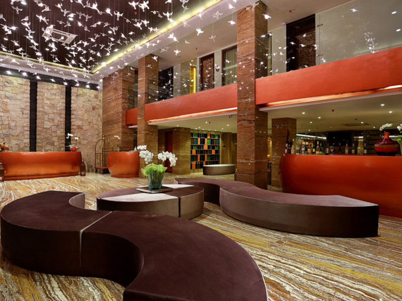 Mega Boutique Hotel & Spa Lounge/Empfang