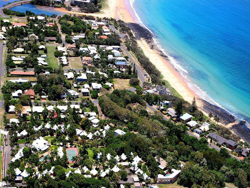 Kellys Beach Resort Landschaft