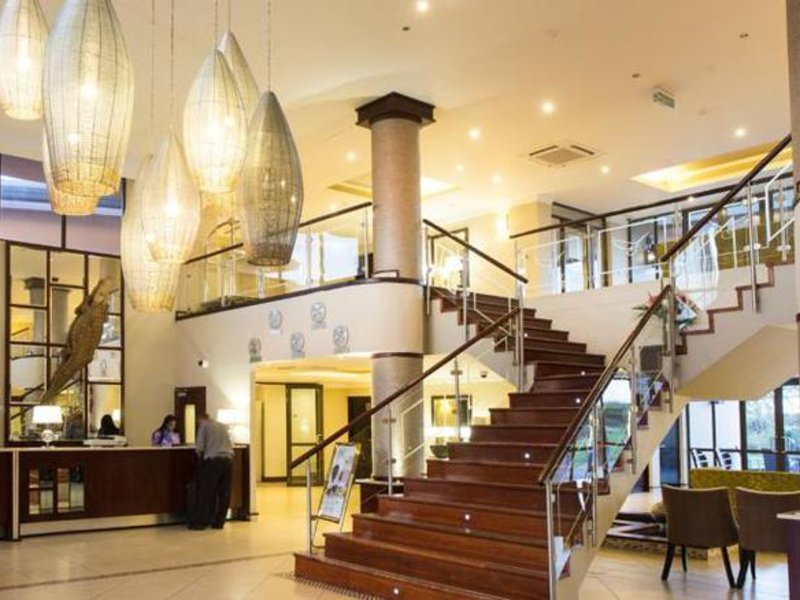 Phakalane Golf Estate Hotel Resort Lounge/Empfang