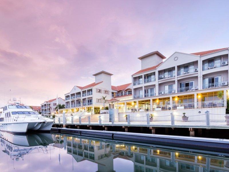 Ramada Hotel Hope Harbour Terrasse