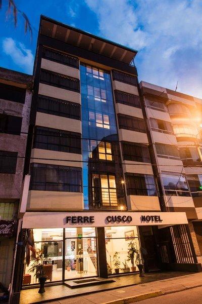 Hotel Ferre Cusco Außenaufnahme
