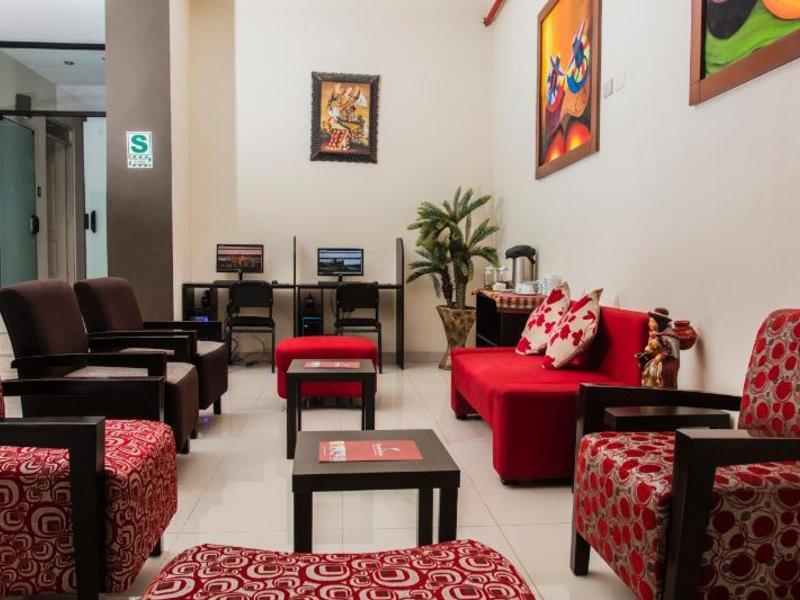 Hotel Ferre Cusco Lounge/Empfang