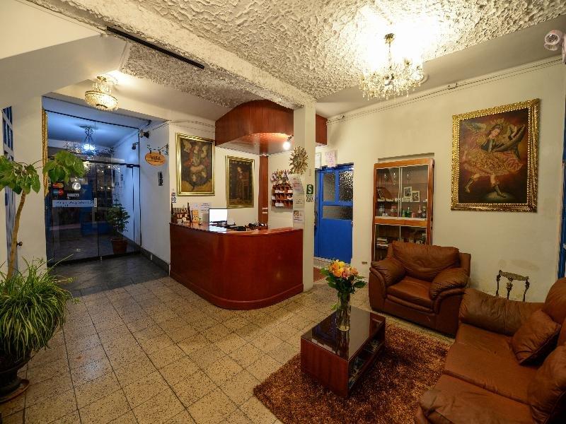 La Casona De Rimacpampa Lounge/Empfang