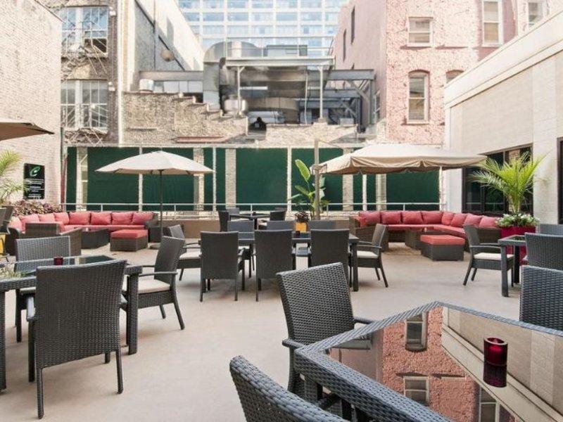 Hampton Inn Chicago Downtown/Magnificent Mile Terrasse