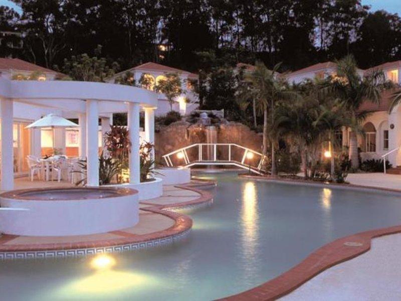 Royal Woods Resort Terrasse