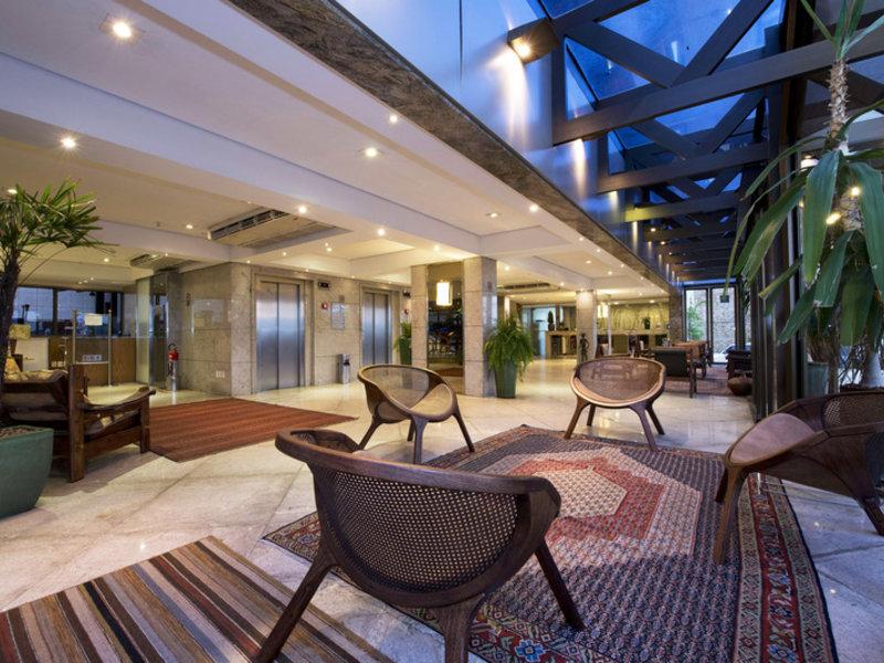Carmel Magna Praia Hotel Terrasse