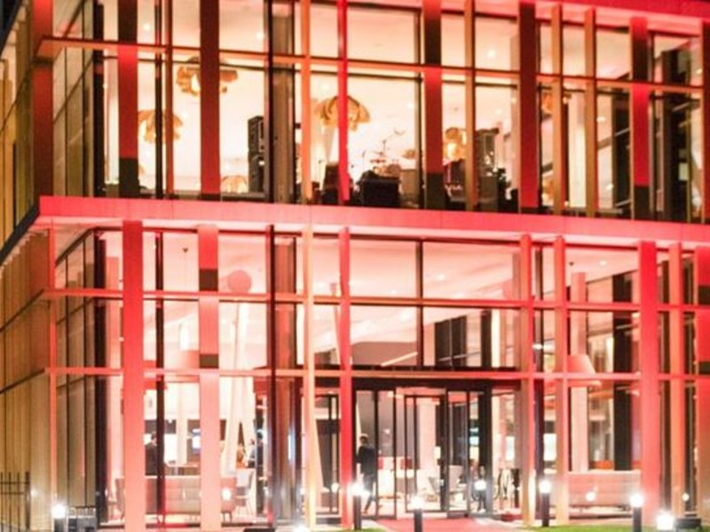 Martin´s Red Lounge/Empfang