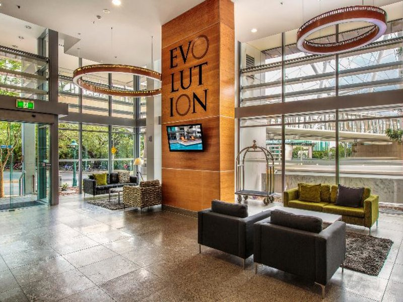 Evolution Apartments Lounge/Empfang