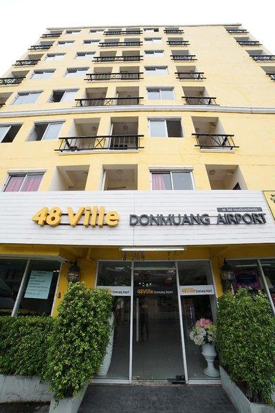 48 Ville Donmuang Airport Außenaufnahme
