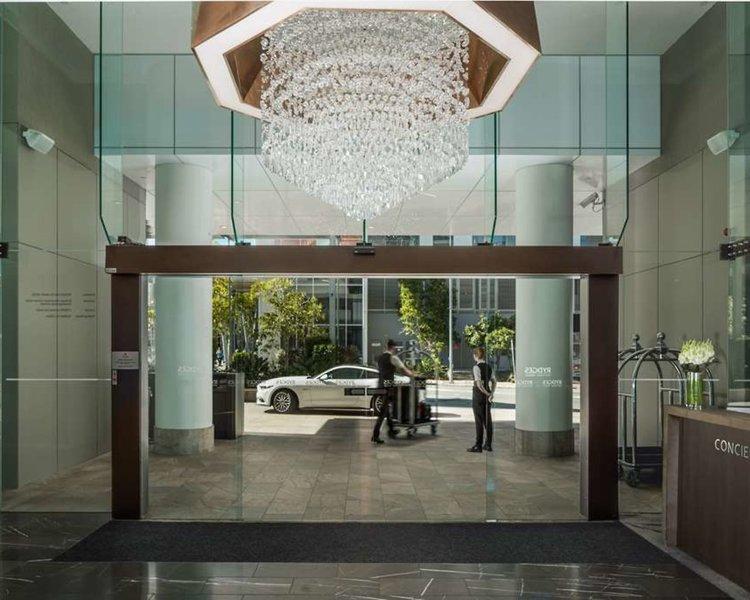 Rydges South Bank Brisbane Lounge/Empfang