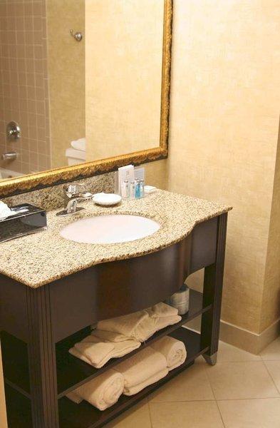 Hampton Inn Dallas-Irving-Las Colinas Badezimmer