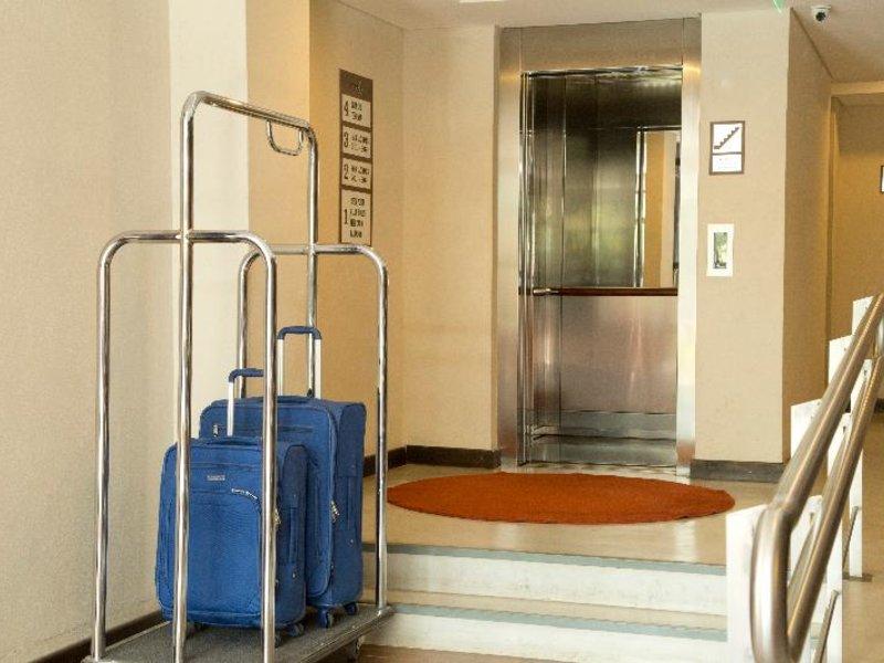Casa Campus Suites Lounge/Empfang