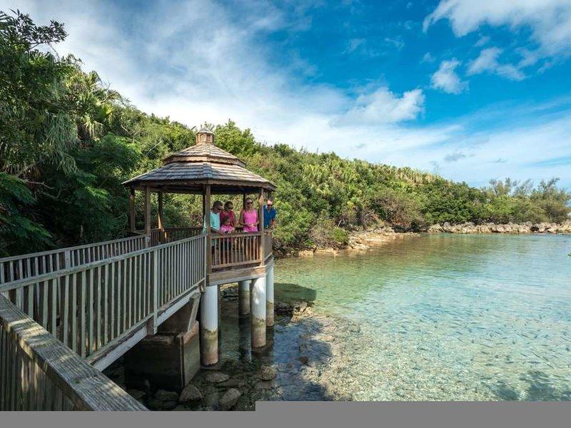 Grotto Bay Beach Landschaft