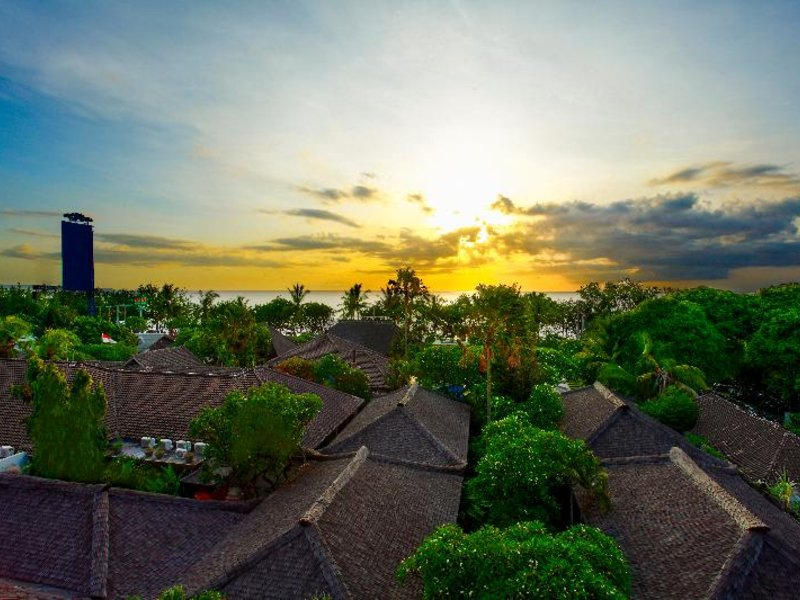 Kuta Seaview Boutique Resort & Spa Landschaft