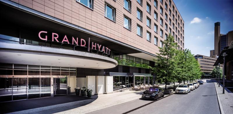 Grand Hyatt BerlinAuߟenaufnahme