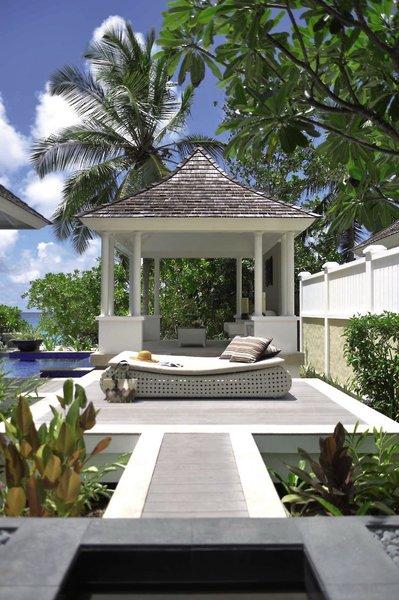 Banyan Tree SeychellesTerasse