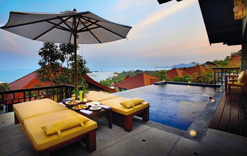 Nora Buri Resort & SpaTerasse