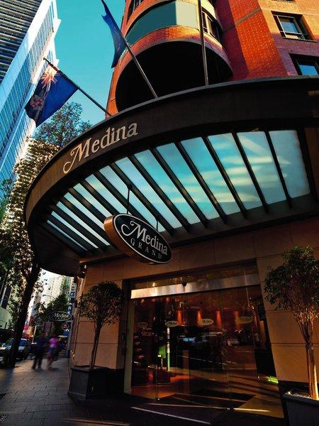Adina Apartment Hotel Sydney Town Hall Außenaufnahme