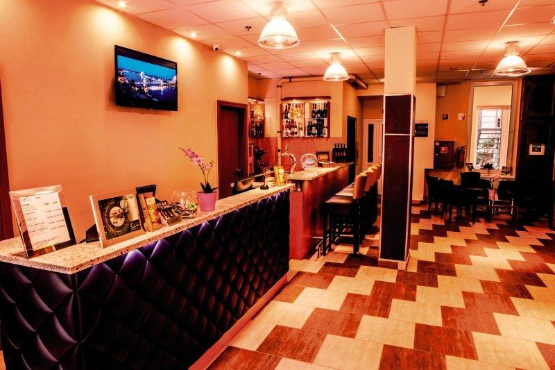 Six Inn Hotel Budapest Lounge/Empfang