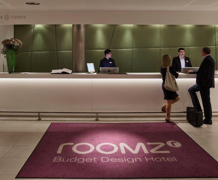 roomz Hotel Wien Gasometer Lounge/Empfang