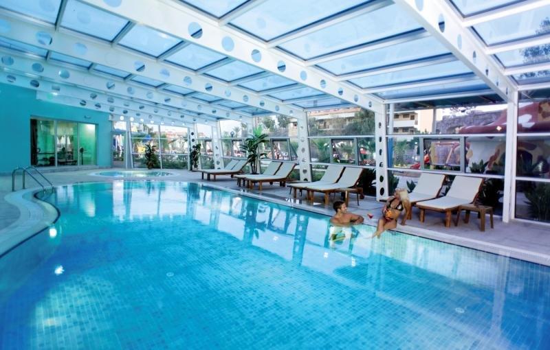 Side Lilyum Hotel & Spa Hallenbad